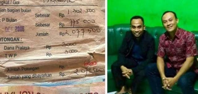 Masyaallah, Karena Ikhlaskan Hilang Entah Kemana, Uang Gaji Iptu Sugeng Kembali 11 Tahun Kemudian