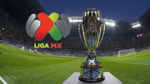 Liga MX logo y trofeo