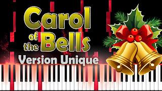 carol of the bells - villancico de las campanas - piano tutorial