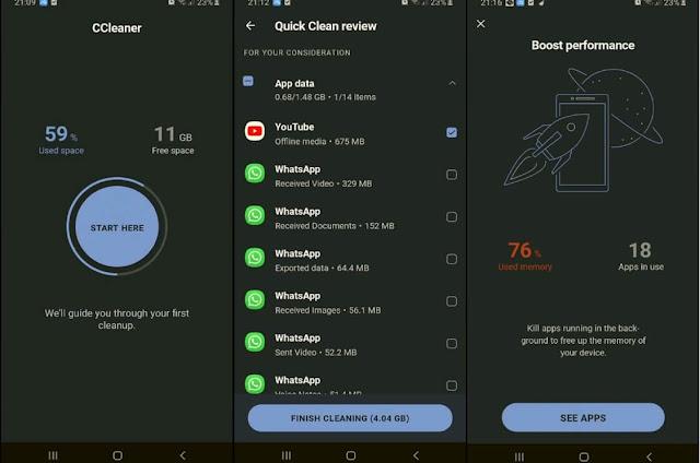 تطبيق تسريع هاتف الاندرويد حل مشكلة بطئ الهاتف تسريع أداء هاتف Android