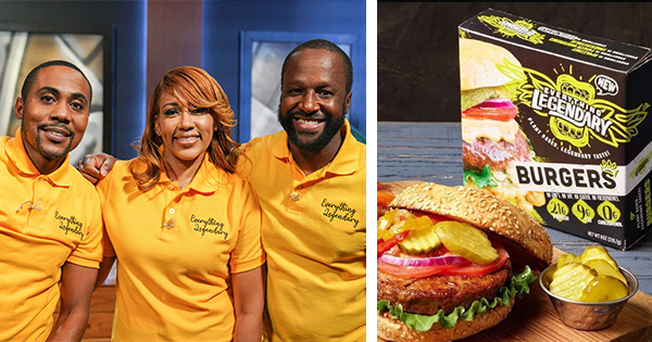 Founders of Everything Legendary vegan burger brand