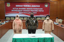 Dharma Wanita in Papua Invited to Socialize Prevention of Covid-19