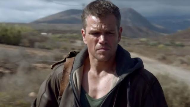 Matt Damon en un fotograma de Jason Bourne
