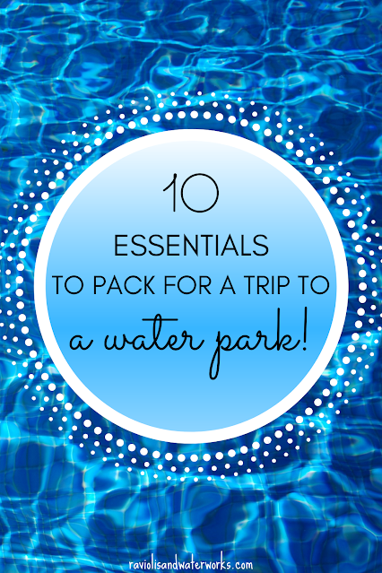 what to bring with you to a water park