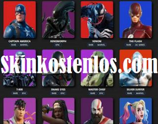 Skinkostenlos.com Is it true that you can get free premium skins fortnite using Skinkostenlos com