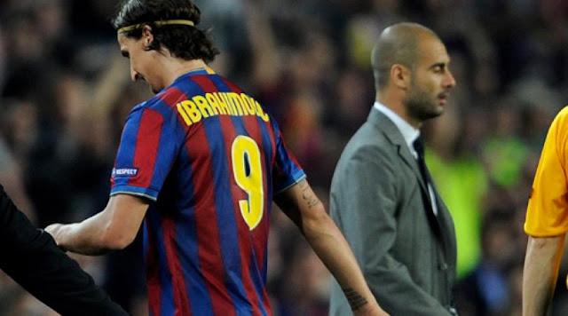 Ibrahimovic dan Pep Guardiola