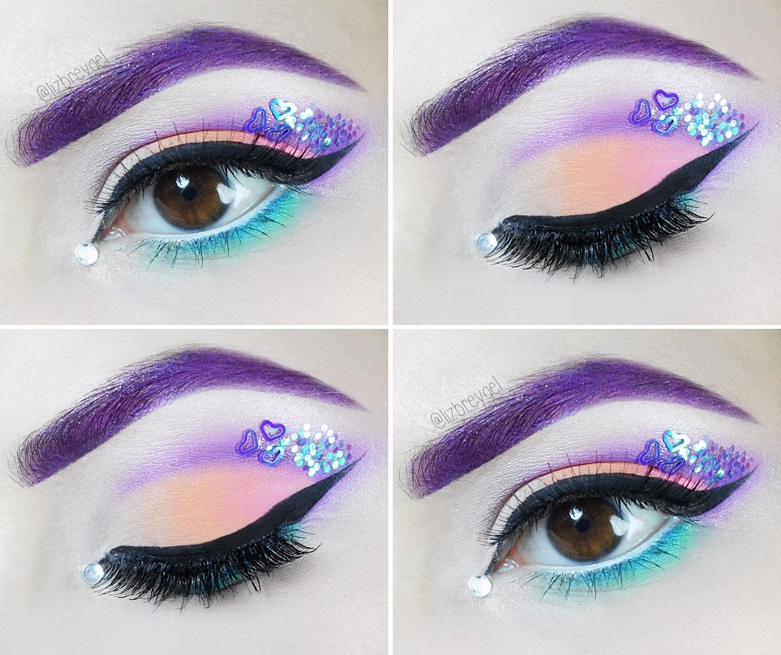 step by step makeup pastel goth fantasia de carnaval liz breygel Tutorial de Maquiagem Pastel Goth