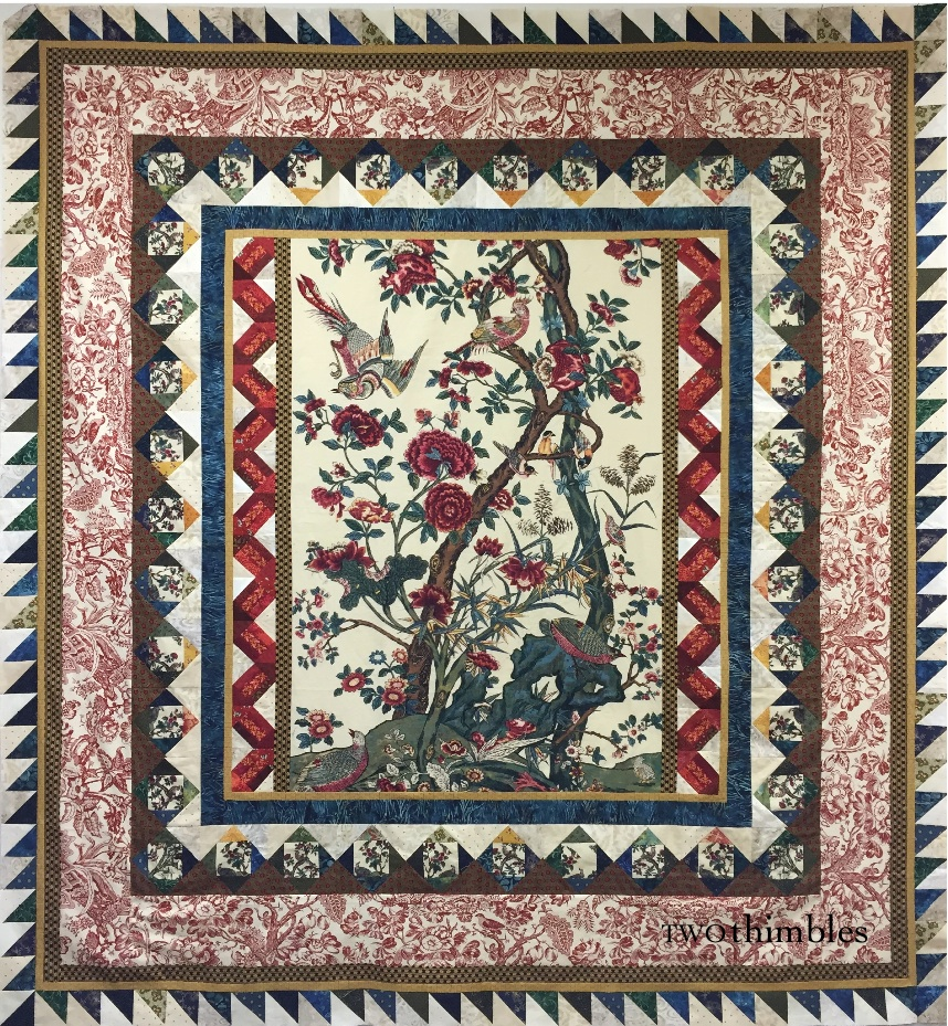 Thimble Chatter Palampore Tree Of Life Quilt