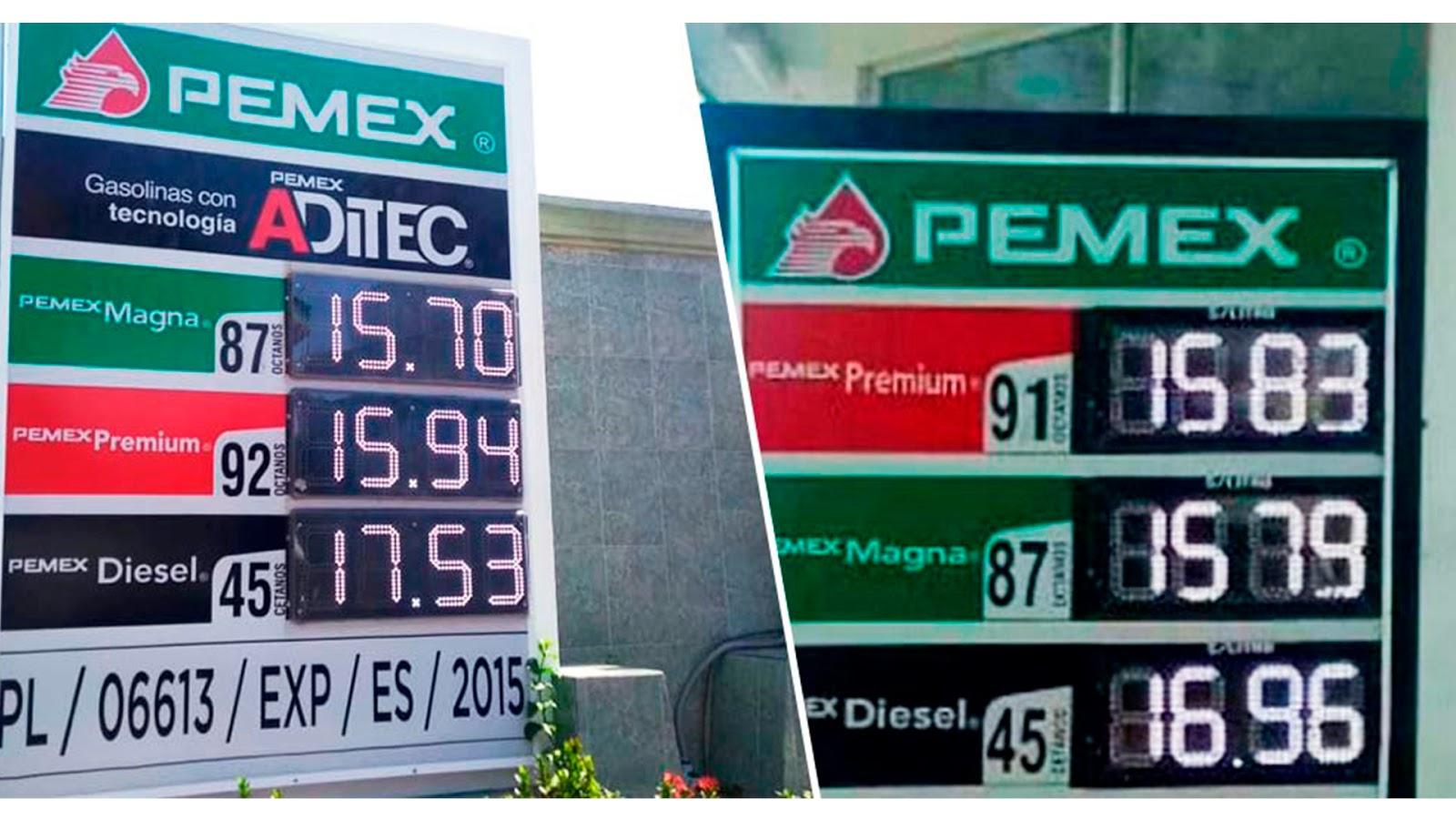AMLO hizo en 1 semana, lo que EPN no hizo en 6 años: bajar precios de gasolinas