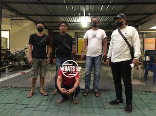 Polres Pelabuhan Makassar Amankan Maling Spesial Aki dan Alat - alat Mobil
