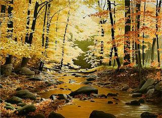 vistas-en-época-de-invierno-y-otoño-pinturas paisajes-invierno-otoño-pinturas