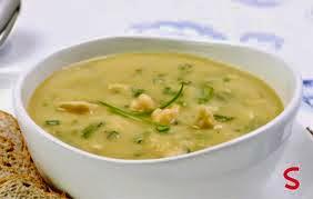 Sopa de Grão de Bico e Lentilha Juntos (Imagem: Reprodução/Internet)
