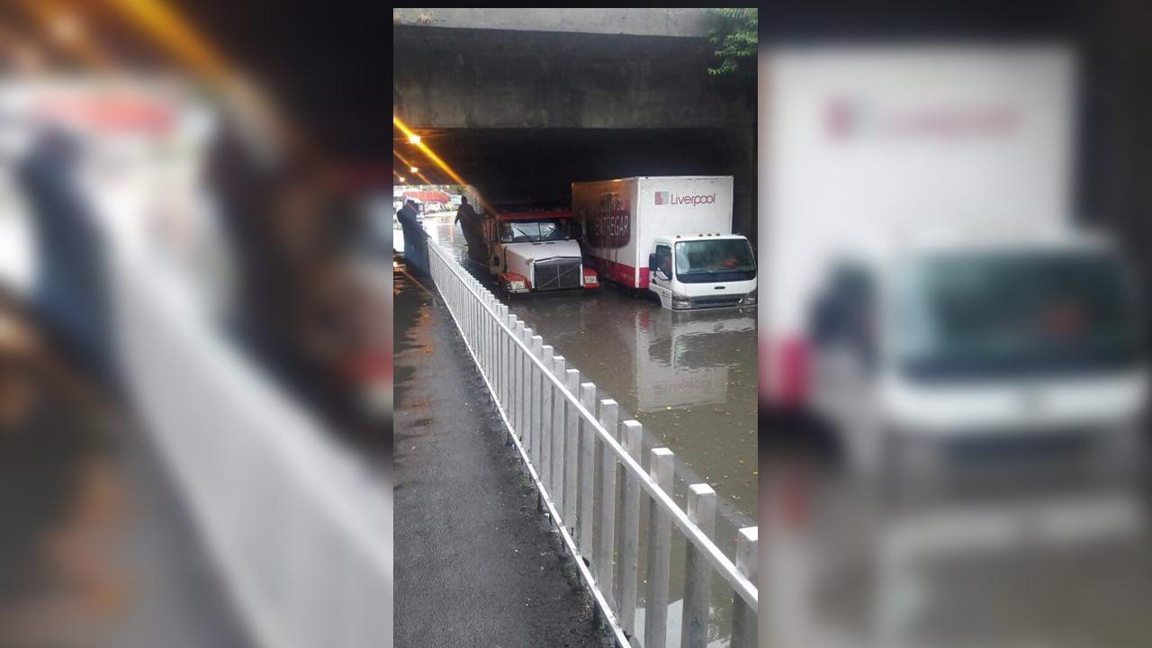 Fotografia tomada por Cesar Carrillo de la inundacion en Roble