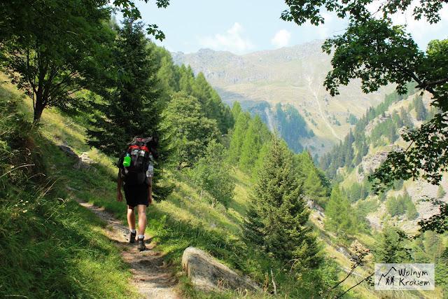 Via Spluga Szlak z Isoli do Montespluga