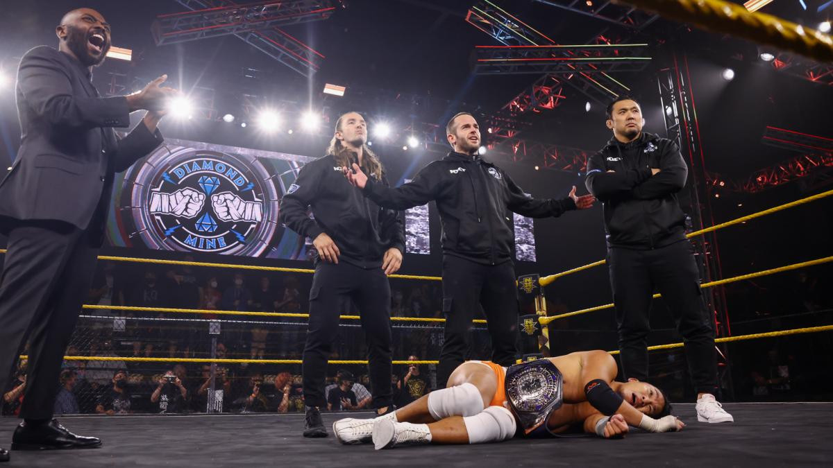 Arturo Ruas e Marina Shafir quase fizeram parte da Diamond Mine no WWE NXT