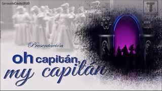 """PRESENTACION, TODOS los PASODOBLES y POPURRI con Letras de la Comparsa """"Oh capitan, My capitan"""""""