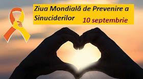 10 septembrie: Ziua Mondială de Prevenire a Sinuciderilor