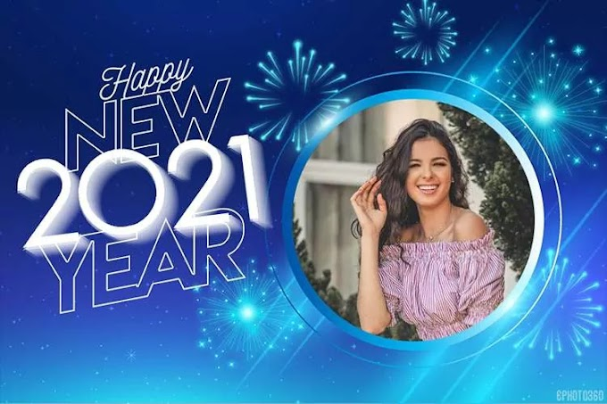 How to make a customized happy new year 2021 card online