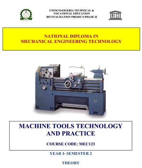 Harry Ayodeji Blog Mec 123 124 Machine Tools And Tech Practice