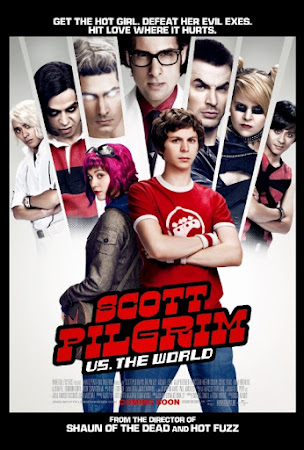 Poster Of Scott Pilgrim vs. the World In Dual Audio Hindi English 300MB Compressed Small Size Pc Movie Free Download Only At worldfree4u.com