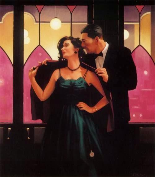 Palavras de Sabedoria - Jack Vettriano e suas pinturas cheias de encontros íntimos