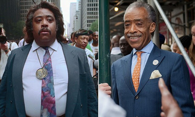 How did Al Sharpton lose weight?
