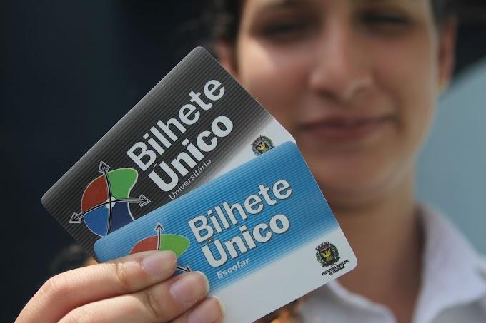 Cadastro para bilhetes Escolar e Universitário em Campinas será retomado a partir do dia 2 de janeiro