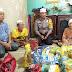 Polresta Pekanbaru Beri Bantuan Kepada Pasutri Lansia