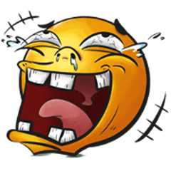 Crazy Emoji Sachet 1