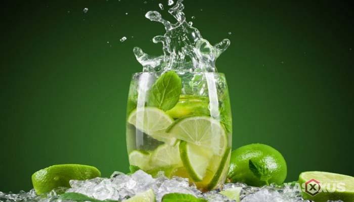 Minuman untuk diet alami dan cepat - Jus jeruk nipis dan madu