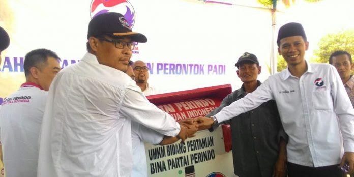 Partai Perindo Bantu Para Petani Kecil Untuk Masyarakat Kabupaten Cirebon