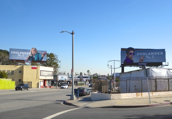 Zoolander 2 movie billboards