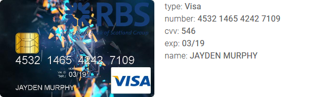 at october 24 2017 - Murphy Visa Card