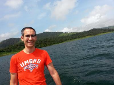 Laguna Arenal en Costa Rica