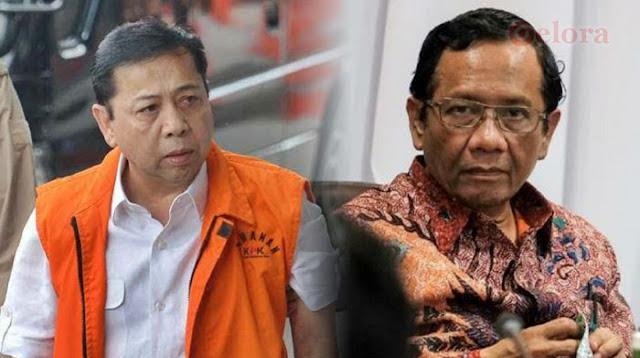 Pengacara Setnov Kritisi Pernyataan Mahfud MD Tak Akan Revisi PP 99/2012
