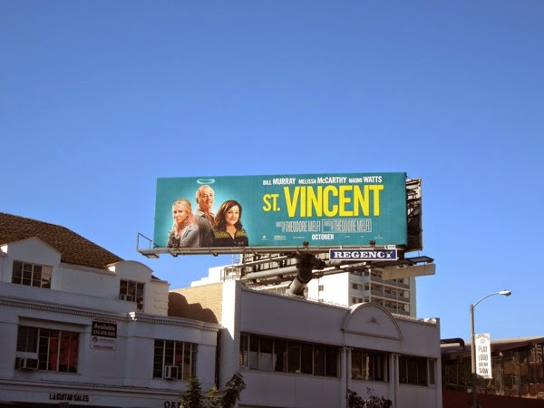 St Vincent movie billboard