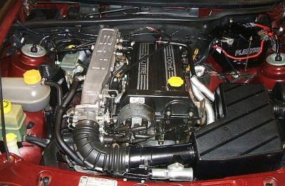 Двигатель DOHC EFi: