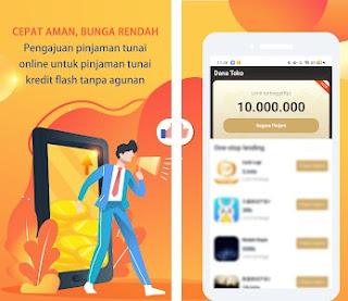 dana toko apk pinjaman online