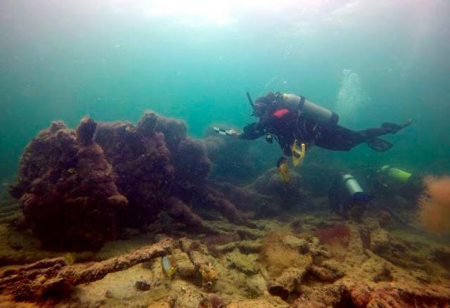 Mexico identifies submerged wreck of Mayan slave ship