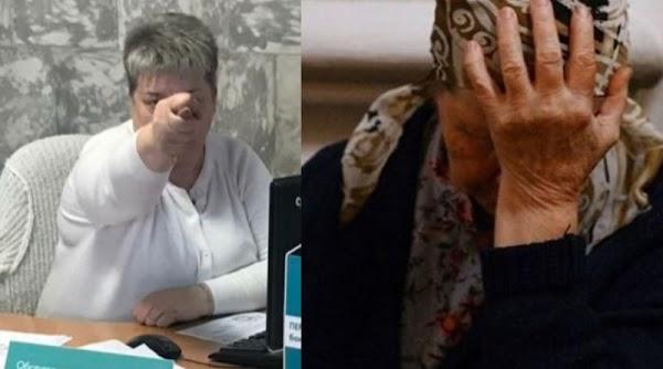 """Пoшлa вoн oтcюдa, cтaрyхa"": Менеджер «Ощадбанку» тицьнула дулю бабусі з обпеченими пальцями"