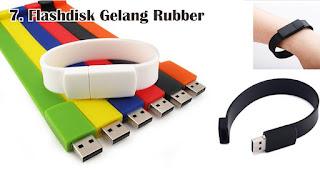 Flashdisk Gelang Rubber merupakan salah satu jenis flashdisk unik yang cocok dijadikan souvenir