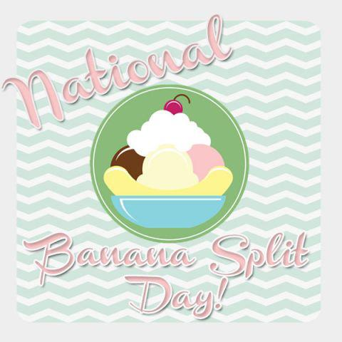 national banana split day
