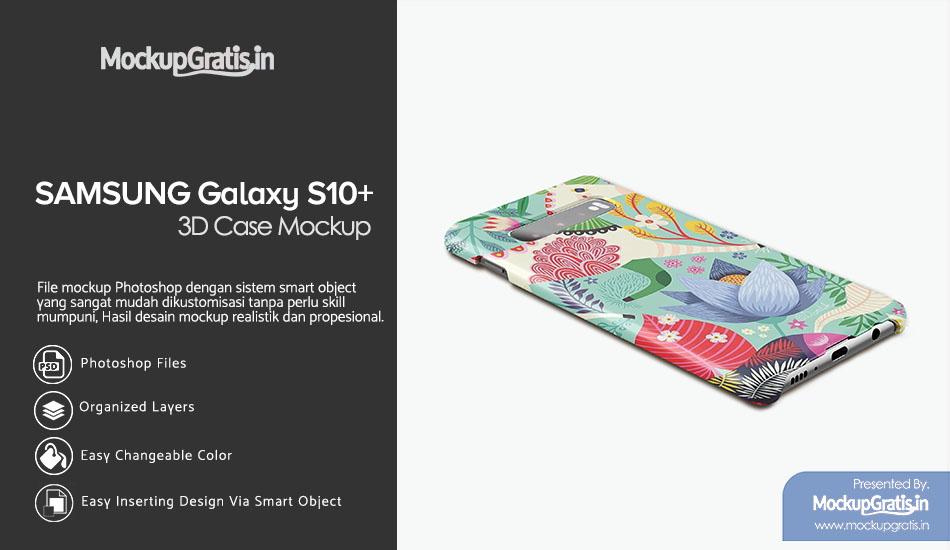 Mockup Gratis Custom Case SAMSUNG S10+