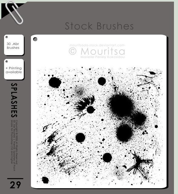 فرش التصميم انواعها واشكالها وابدااعااتها ... Photoshop Brush_pack___splashes_of_paint_by_mouritsada_stock-d1k2lx8