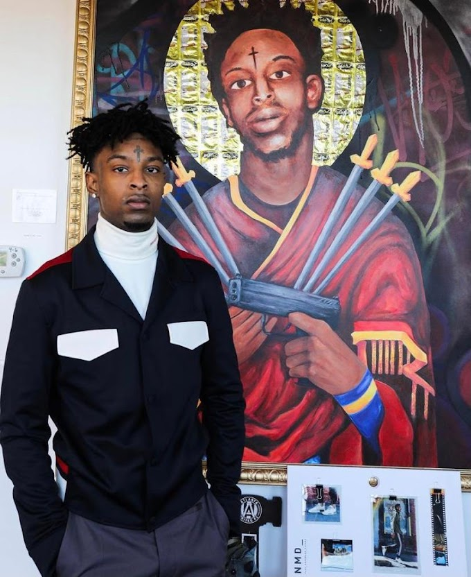 21 Savage Brother's Terrell Davis was stabbed to death in London.