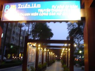 Parco di fronte al Teatro dell'Opera di Ho Chi Minh City