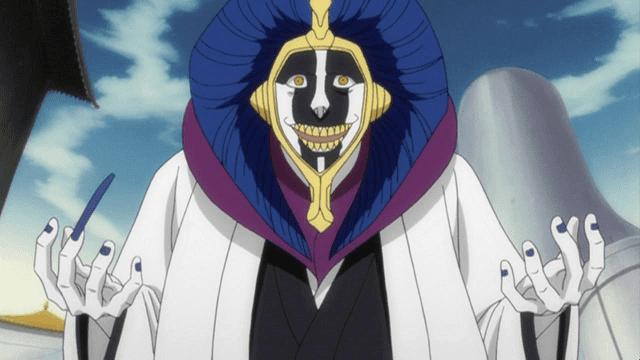 Kurotsuchi adalah ilmuwan gila di Bleach