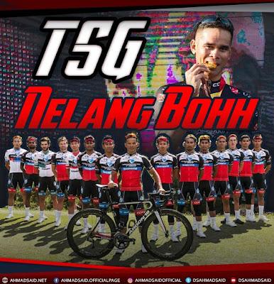 Tahniah! pasukan Terengganu Cycling Team (TSG)