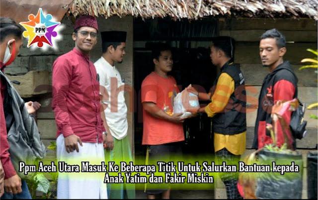 PPM Aceh Utara Salurkan Bantuan Untuk Para Anak Yatim, Fakir dan Miskin