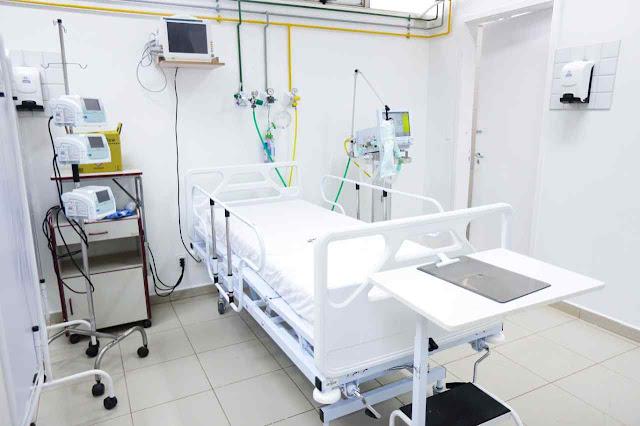 Leito hospital de campanha Coronavírus em Brasília DF